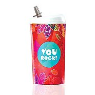 Value Pop-Top Water Bottles - You Rock!