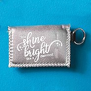 Metallic Card Case - You Shine Bright Like a Diamond