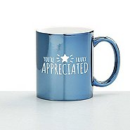 Iridescent Ceramic Value Mug - You're Truly Appreciated