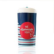 Pop-Top Water Bottle - We Appreciate You Stethoscope