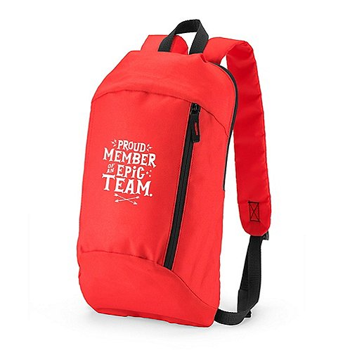 Budget Backpack - Proud Member of an Epic Team
