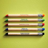 Pencil Look Pen Set