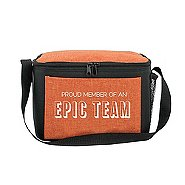 Heathered Lunch Cooler Tote - Proud Member Of An Epic Team