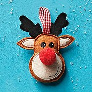 Festive Felt Ornament - Thanks For All You Do!