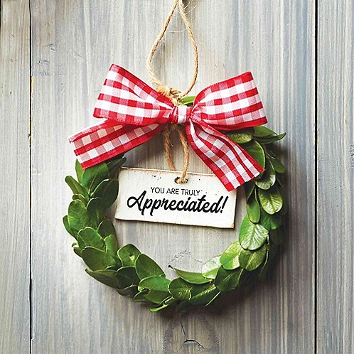 Heartfelt Appreciation Wreath - You Are Truly Appreciated!