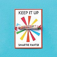 Candy Coated Cards - Keep It Up Smartie Pants!