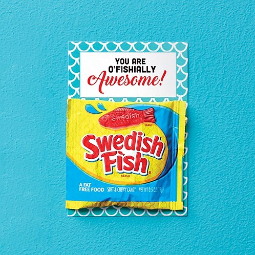 Candy Coated Cards - You Are O'Fishially Awesome!