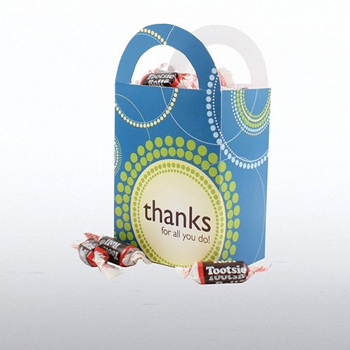 Fun treat gift bag thanks for all you do at Thanks for all you do gifts
