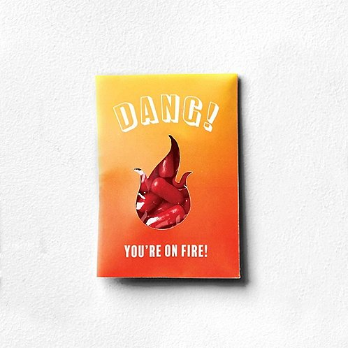 Sweet as Candy Card - Dang You're On Fire