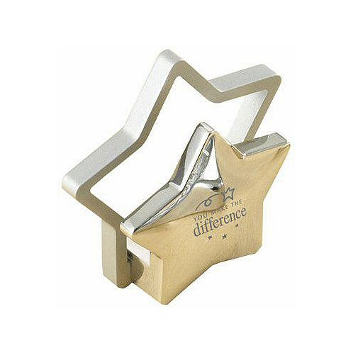Business card holder you make the difference at baudville business card holder you make the difference reheart Image collections
