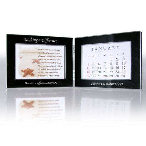 Perpetual Desk Calendar - Starfish: Making a Difference