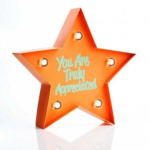 Marquee Desk Light - You Are Truly Appreciated