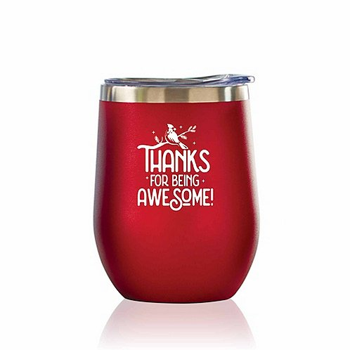 Bright Spirits Beverage Tumbler - Thanks for Being Awesome