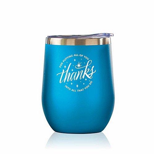 Bright Spirits Beverage Tumbler - Thanks