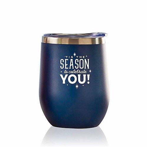 Bright Spirits Beverage Tumbler - 'Tis The Season