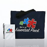 Journal, Pen & Tote Gift Set - Contemporary Essential Piece