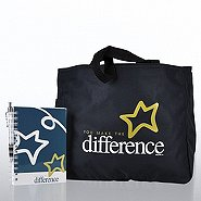 Journal, Pen & Tote Gift Set - You Make the Difference