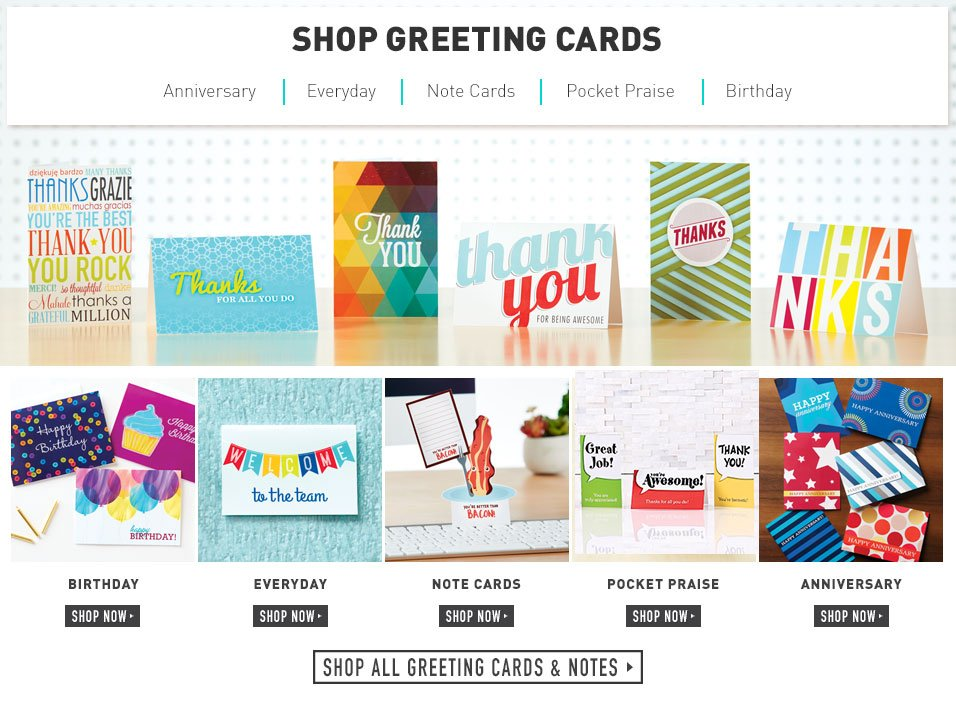 Greeting Cards And Notes At Baudville