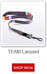Team lanyard. Shop now button