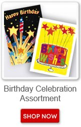 Birthday Celebration Assortment. Shop now button