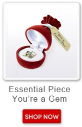 Essential Piece, You are a Gem. Shop now button