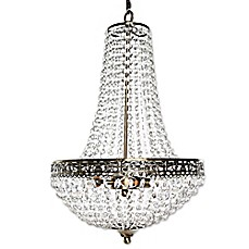 image of Poetic Wanderlust® by Tracy Porter® Cheyenne 3-Light Crystal and Metal Chandelier in Clear