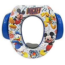image of disney mickey mischief makers soft potty seat