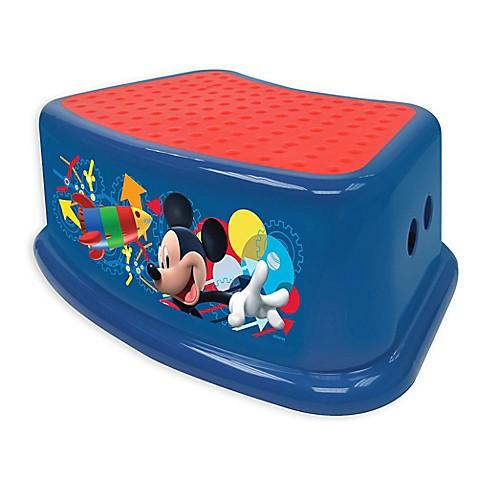 Buy Disney 174 Mickey Clubhouse Capers Step Stool In Blue
