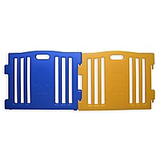 image of Baby Diego Cub'Zone Playard Extension Panels in Blue/Yellow (Set of 2)