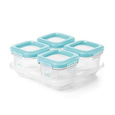 image of OXO® Tot 4 oz. Glass Baby Storage Blocks