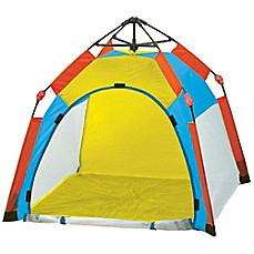image of Pacific Play Tents One Touch Nursery Tent in Green