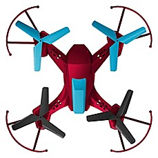 image of Quadrone Battle Drone in Red/Black/Blue
