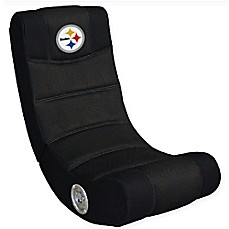 image of NFL Pittsburgh Steelers Gaming Chair with Bluetooth®