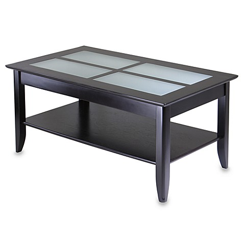 Loren Coffee Table With Frosted Glass Tiles Bed Bath Beyond