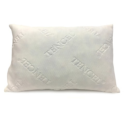 New Domaine Shredded Latex Pillow With Tencel 174 Cover