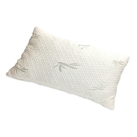 New Domaine Viscose Rayon Memory Foam Pillow