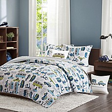image of INK+IVY Kids Road Trip 4-Piece Coverlet Set