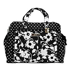 image of Ju-Ju-Be® Legacy Be Prepared The Heiress Diaper Bag in Black/White