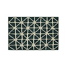 image of Mohawk Signature Bamboo View 20-Inch x 34-Inch Accent Rug in Sapphire/Cream