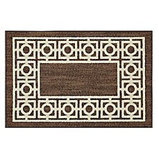 image of Mohawk Home Signature Davidson 20-Inch x 34-Inch Accent Rug in Brown