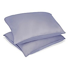 image of Clean Living 2-Pack Microfiber Stain-Resistant Bed Pillow