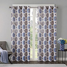 image of Regency Heights Opus Grommet Top Window Curtain Panel