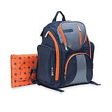 image of J is for Jeep® Perfect Pockets Backpack Diaper Bag in Navy
