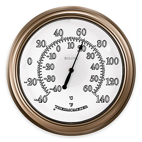 Light Champ Indoor/Outdoor Wall Thermometer