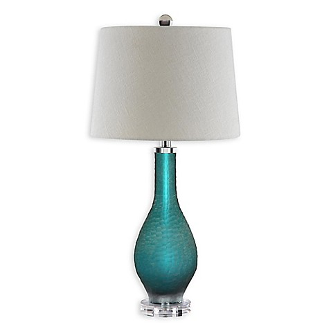 sea glass table lamps buy stein world balis glass table lamp in sea green from 5091