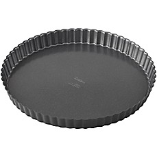 image of Wilton® Advance Select Premium Nonstick™ 11-Inch Tart/Quiche Pan in Gunmetal
