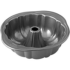 image of wilton advance select premium nonstick 10inch fluted tube pan in