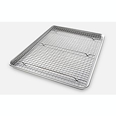 image of USA Pan Baking 2-Piece  Pan/Rack Set