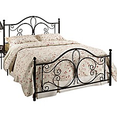 image of Hillsdale Milwaukee Bed Set in Brown