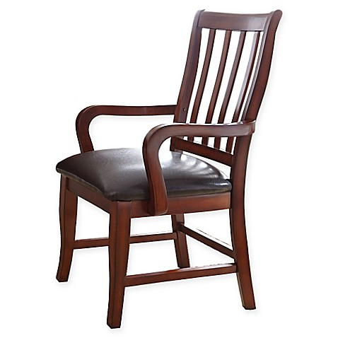 Buy Steve Silver Co Montibello Dining Arm Chair In Brown